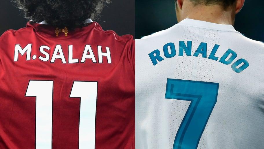 Cristiano Ronaldo,Mohamed Salah