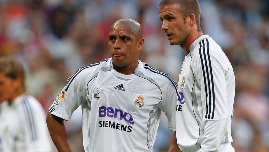 David Beckham,Roberto Carlos