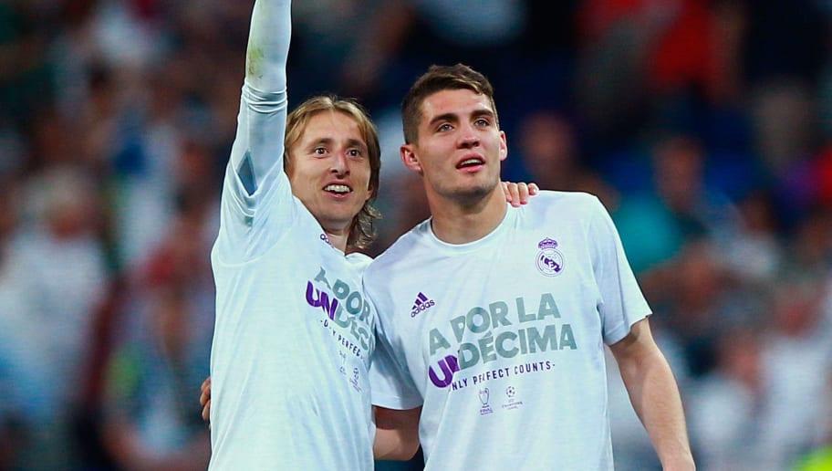 Luka Modric,Mateo Kovacic