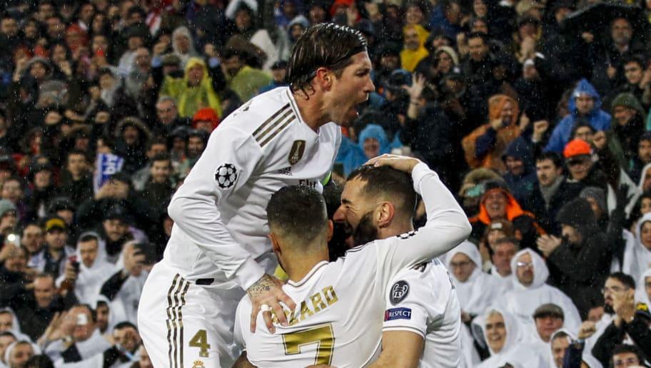 Eden Hazard,Karim Benzema,Sergio Ramos