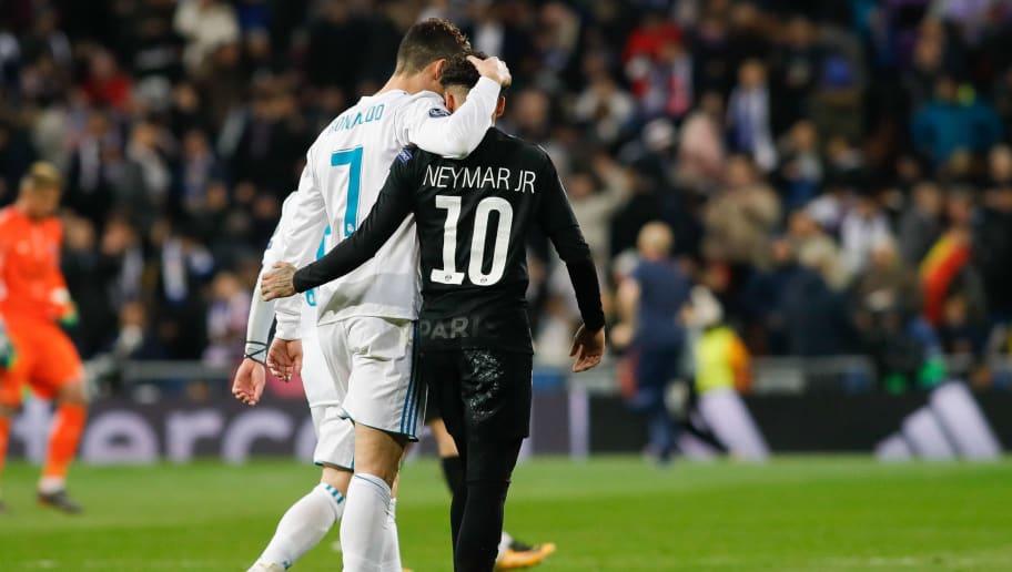 Cristiano Ronaldo - Soccer Player,Neymar da Silva