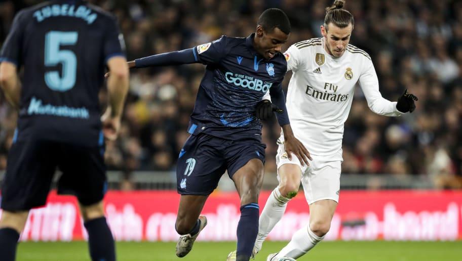 Alexander Isak,Gareth Bale