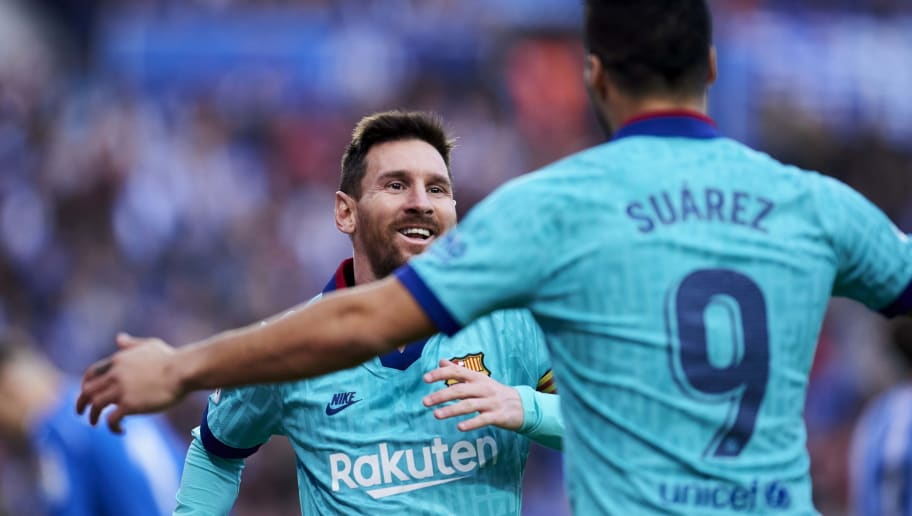 Luis Suarez Warns Barcelona Have to Build a Competitive Team to Keep Lionel Messi Around