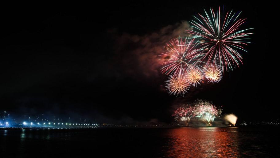 Rio De Janeiro Celebrates New Year