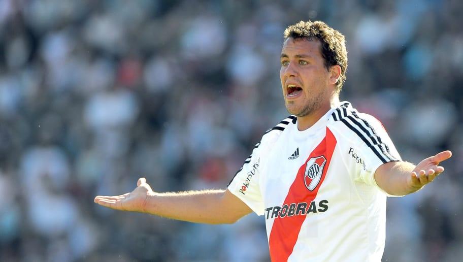 River Plate's footballer Cristian Fabbia