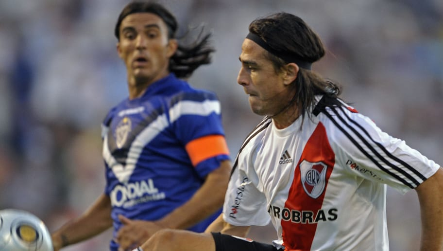 River Plate's footballer Mauro Rosales (
