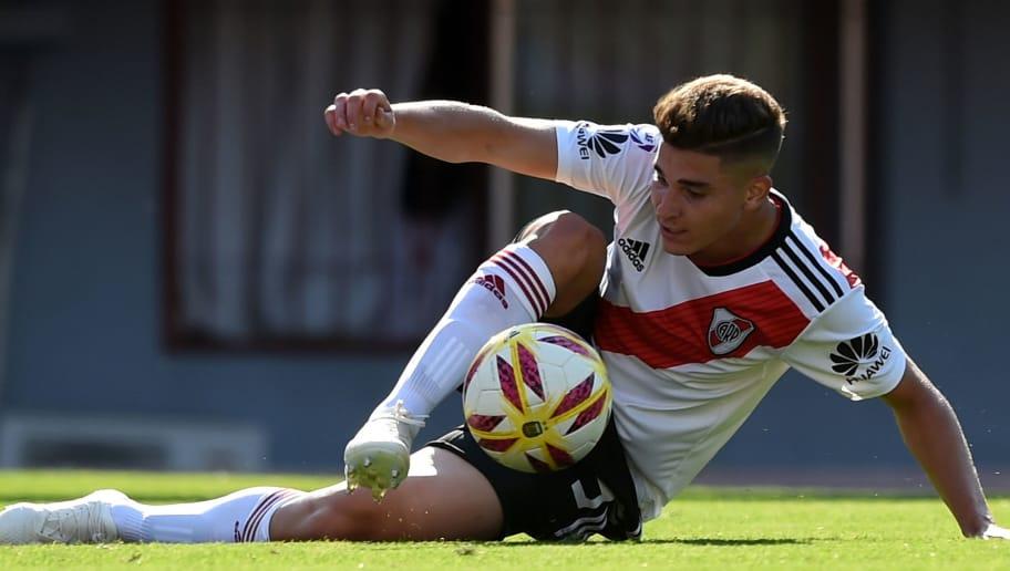 La nueva joya del fútbol argentino  pasó por el Real Madrid y ya muestra su  talento en River 145d23b4d54e4