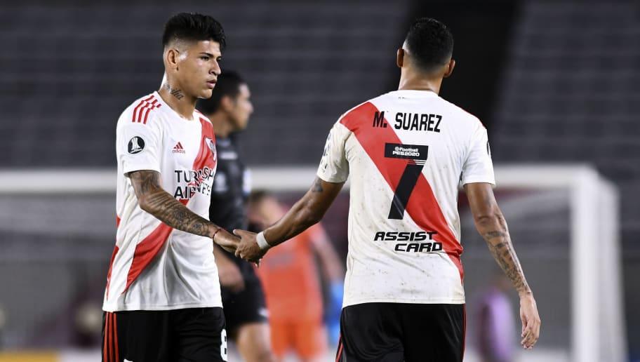 Matias Suarez,Jorge Carrascal