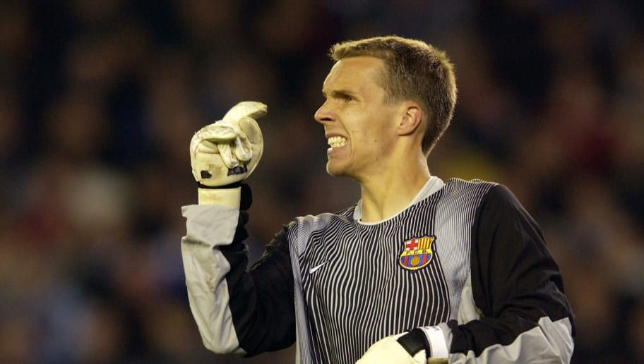 Robert Enke of Barcelona