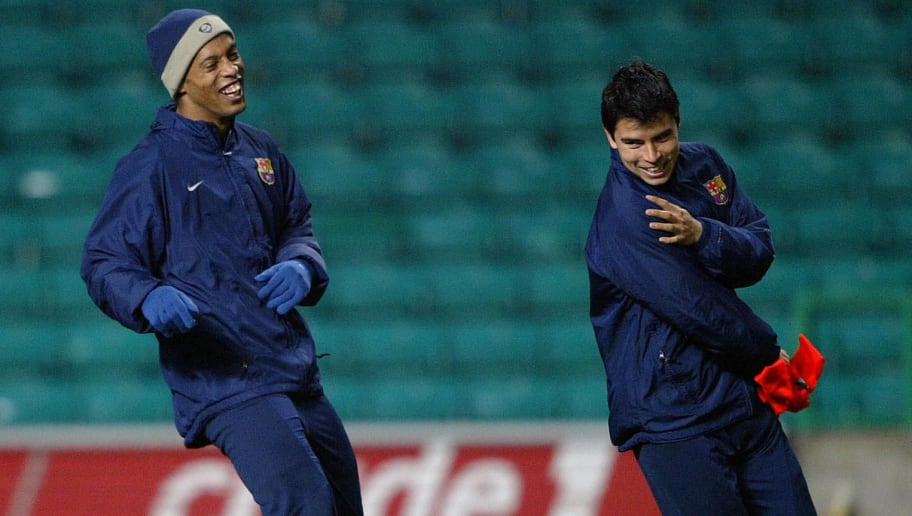 Javier Saviola Recalls Ronaldinho's Uniqueness During His Time Spent at FC Barcelona