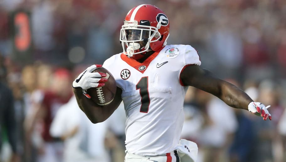 new styles f38a2 21ef1 VIDEO: Sony Michel Surprised Georgia Football Team With ...