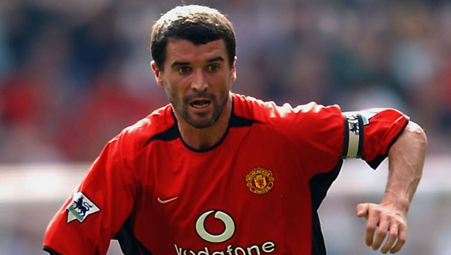 Roy Keane of Manchester United