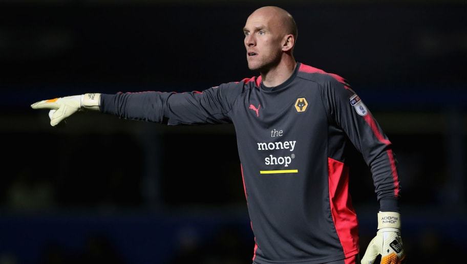 BIRMINGHAM, ENGLAND - DECEMBER 04:  John Ruddy of Wolverhampton shouts instructions during the Sky Bet Championship match between Birmingham City and Wolverhampton Wanderers at St Andrews on December 4, 2017 in Birmingham, England.  (Photo by David Rogers/Getty Images)