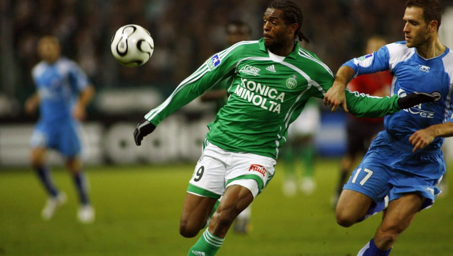Saint-Etienne's French forward Frederic