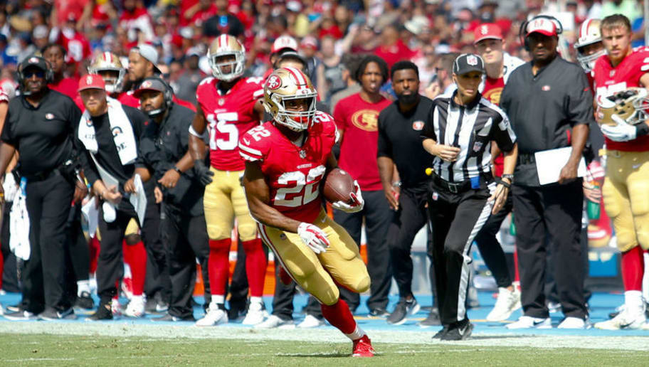 Fantasy Update  Matt Breida Leaves Week 5 vs. Cardinals  958c46b6d