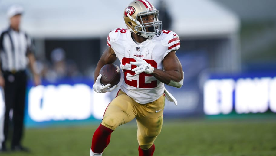 super popular f93f4 971a1 Would You Rather: Matt Breida or Alfred Morris? | theduel