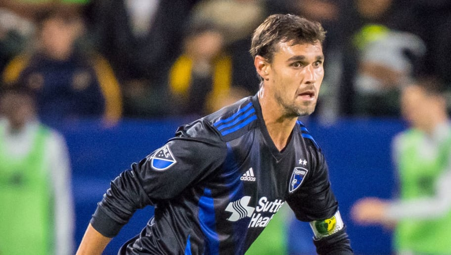 CARSON, CA - MAY 25:  Chris Wondolowski #8 of San Jose Earthquakes during the Los Angeles Galaxy's MLS match against San Jose Earthquakes at the StubHub Center on May 25, 2018 in Carson, California.  The Los Angeles Galaxy won the match 1-0 (Photo by Shaun Clark/Getty Images)