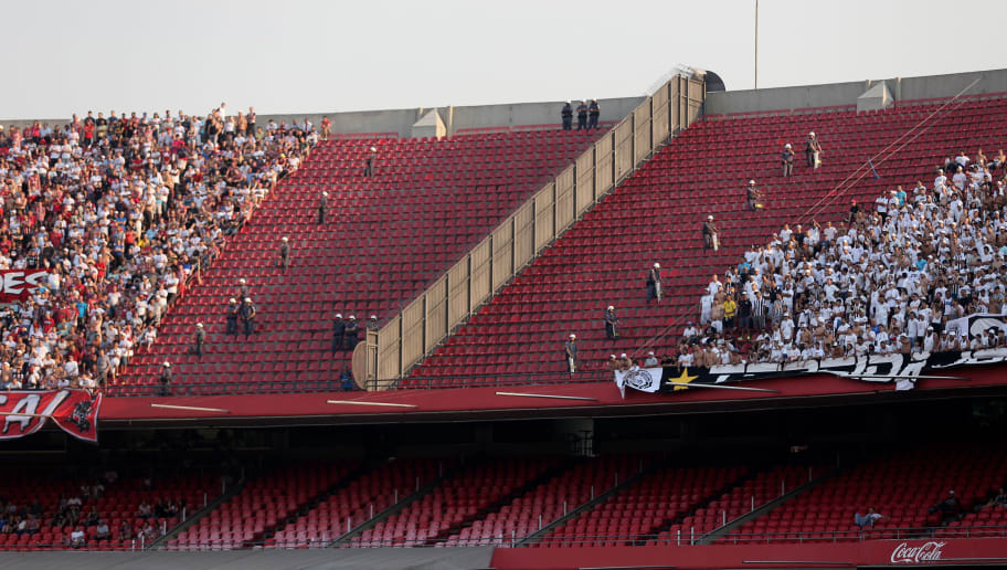 Sao Paulo v Santos - Brasileirao Series A 2014