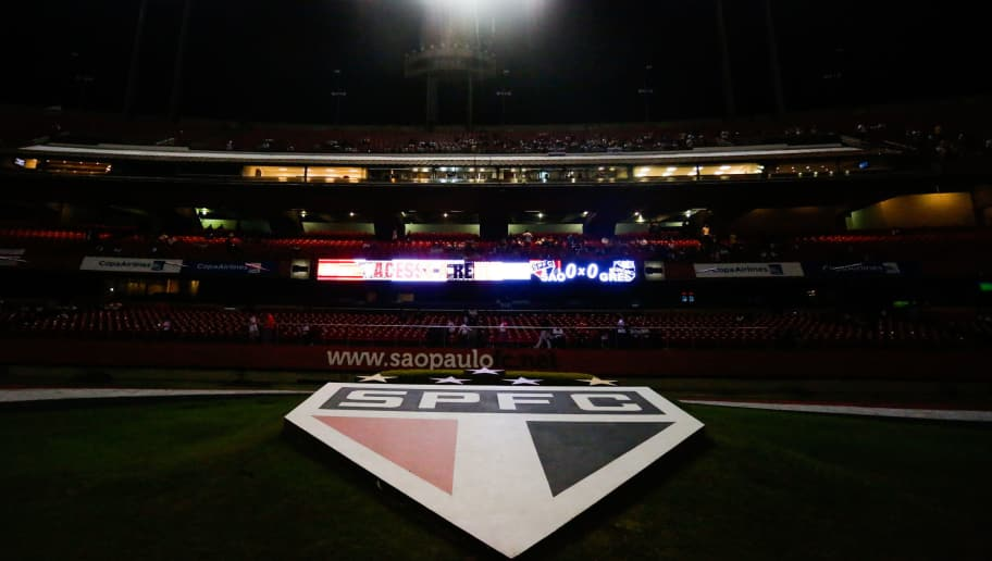 SAO PAULO, BRAZIL - JUNE 06: General view of the stadium before the match between Sao Paulo and Gremio for the Brazilian Series A 2015 at Morumbi stadium on June 06, 2015 in Sao Paulo, Brazil. (Photo by Alexandre Schneider/Getty Images)