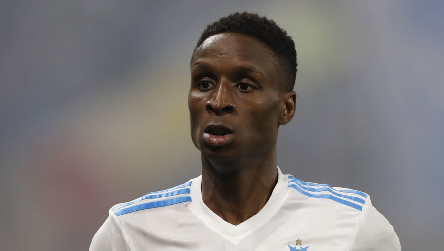 LYON, FRANCE - MAY 16: Bouna Sarr of Olympique de Marseilleseen during the UEFA Europa League Final between Olympique de Marseille and Club Atletico de Madrid at Stade de Lyon on May 16, 2018 in Lyon, France. (Photo by Ian MacNicol/Getty Images)