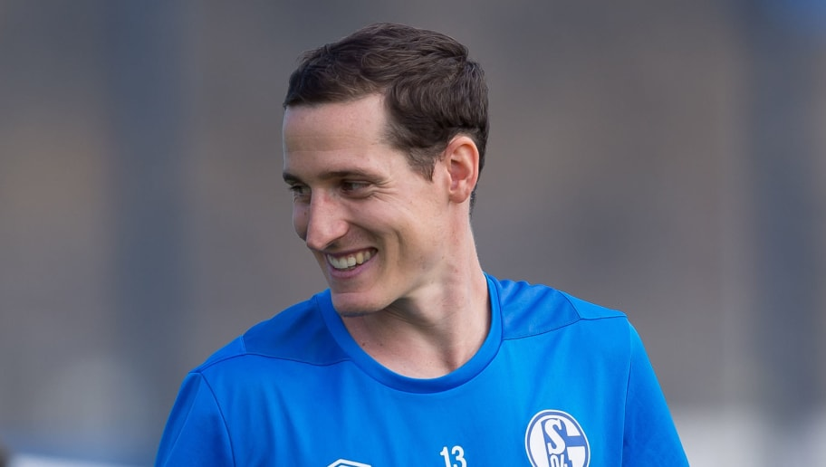 GELSENKIRCHEN, GERMANY - SEPTEMBER 05: Sebastian Rudy of Schalke looks on during the Schalke 04 Training Session on September 5, 2018 in Gelsenkirchen, Germany. (Photo by TF-Images/Getty Images)