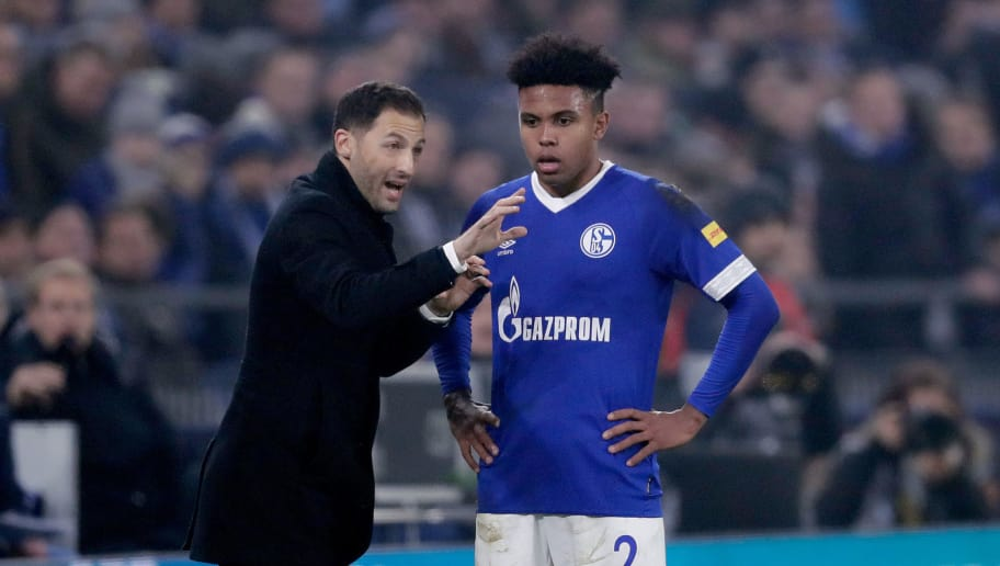 Domenico Tedesco,Weston Mckennie