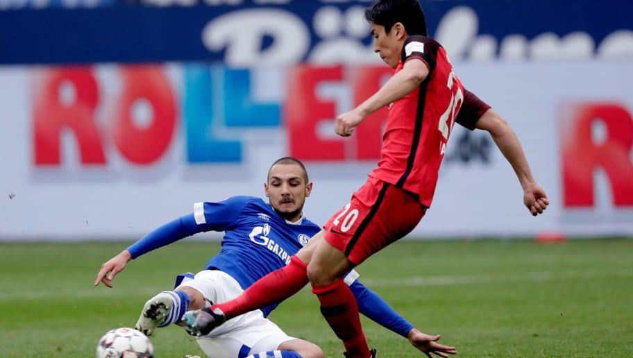 FC Schalke 04 - Eintracht Frankfurt   Die offiziellen Aufstellungen