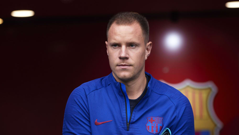 Marc-Andre ter Stegen Fumes at Barcelona Team Mates After Slavia Prague Scare