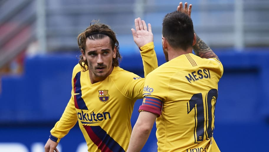Antoine Griezmann,Lionel Messi