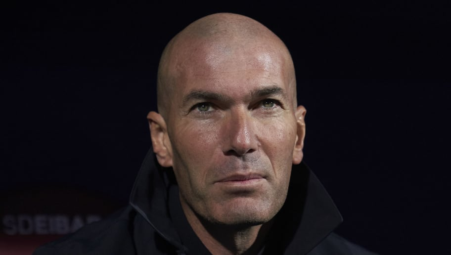 Zinedine Zidane, Manager of Real Madrid