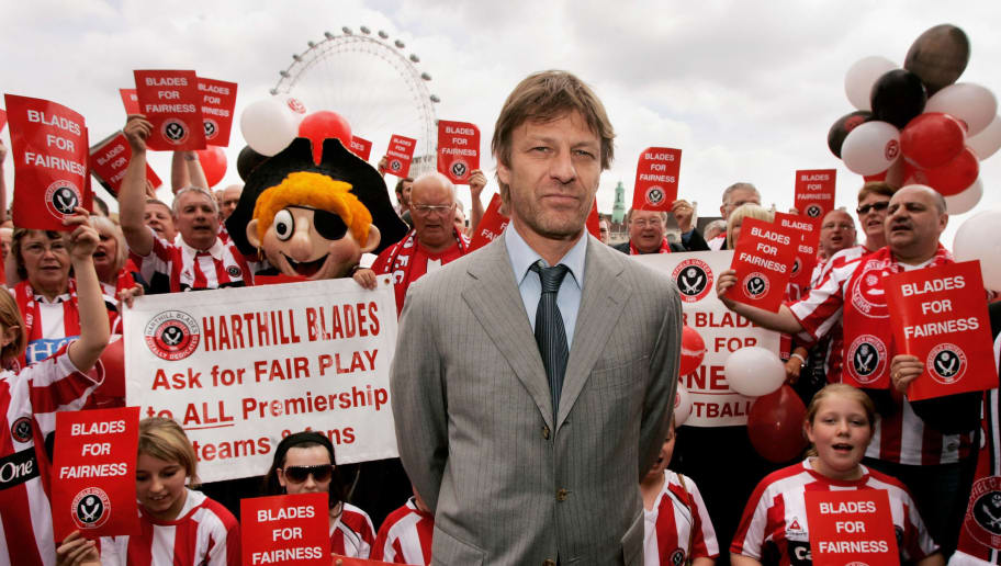Sean Bean Protests Against Sheffield United Relegation