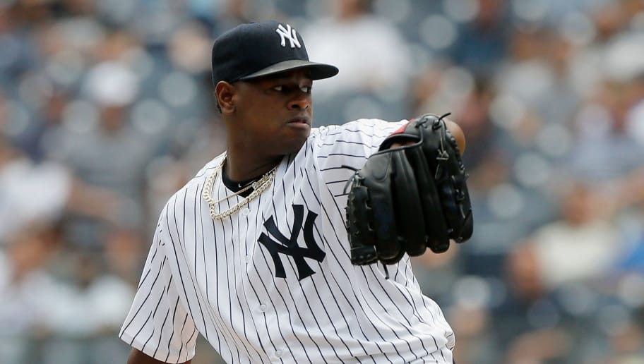 NEW YORK, NY - JUNE 21:  Luis Severino #40 of the New York Yankees in action against the Seattle Mariners at Yankee Stadium on June 21, 2018 in the Bronx borough of New York City. The Yankees defeated the Mariners 4-3.  (Photo by Jim McIsaac/Getty Images)