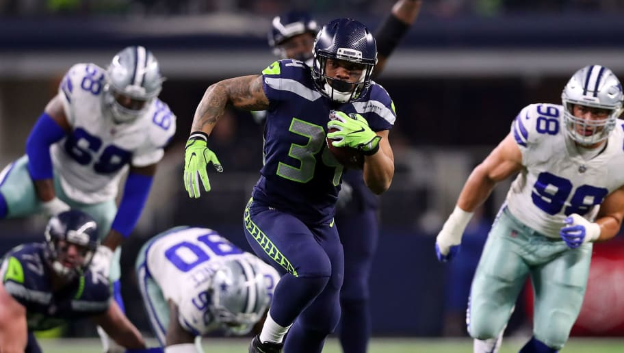Bengals Release Former Seahawks Rb Thomas Rawls