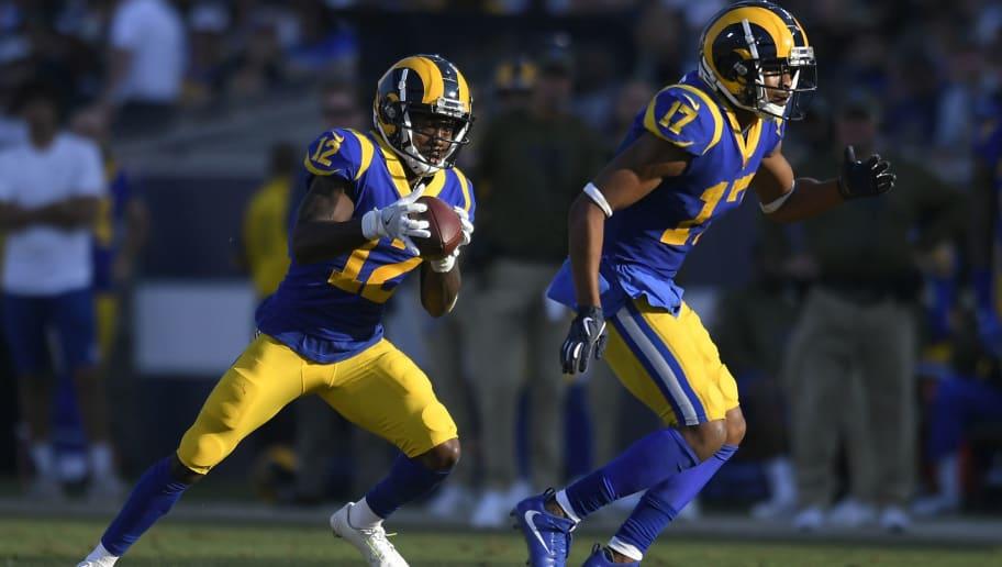 new styles b77eb fb09c Rams' Wide Receivers Struggle Against Key Trait of Patriots ...