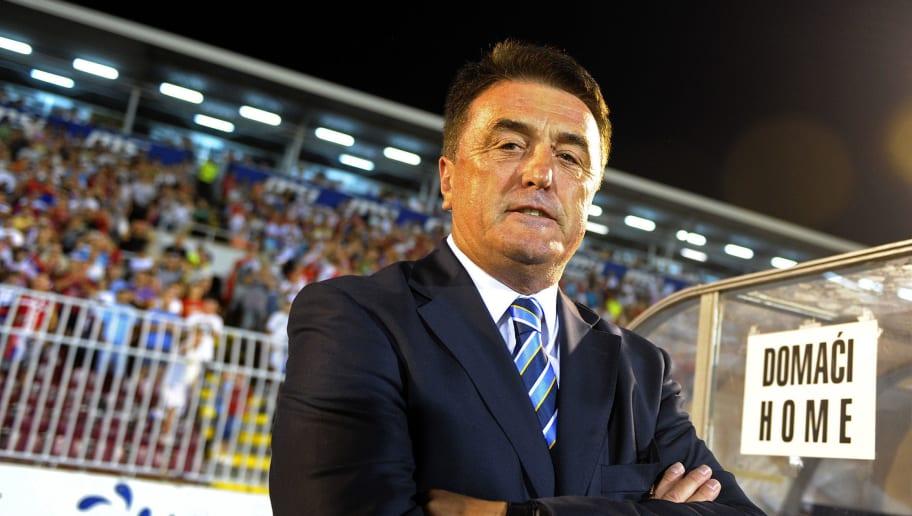 Serbian national football team coach Rad