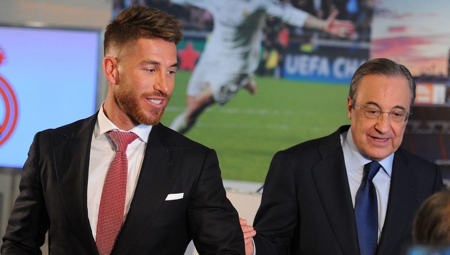Sergio Ramos,Florentino Perez
