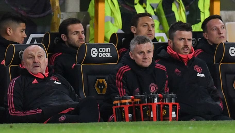 Man Utd Fans on Twitter Destroy Two Players Seen Laughing on the Bench  During Wolves Defeat
