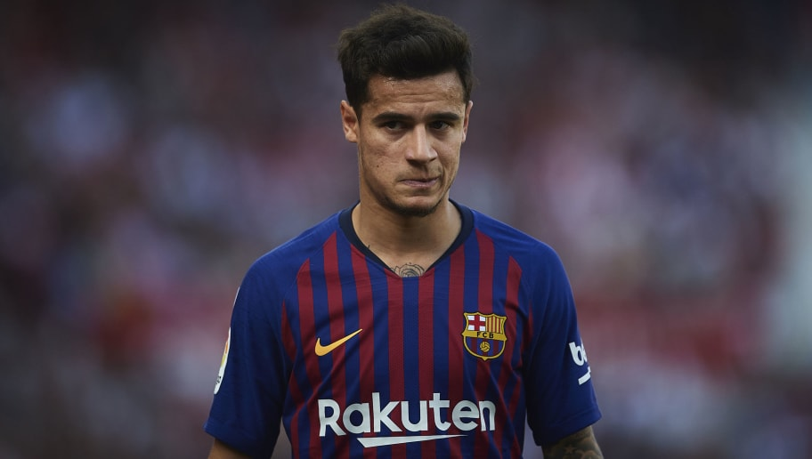 Chelsea and Man Utd Linked Philippe Coutinho Not Pushing For Barcelona Exit