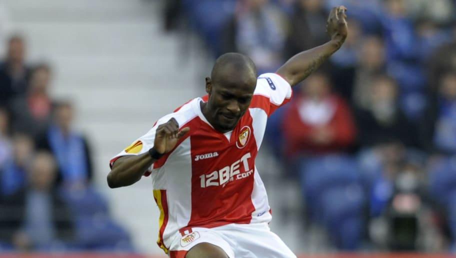 Sevilla's Ivorian midfielder Didier Zoko