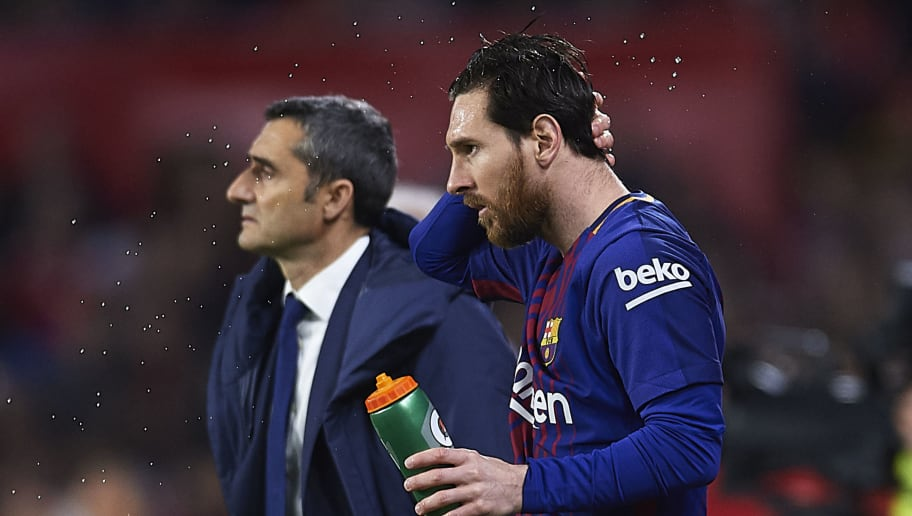Ernesto Valverde Confirms That Lionel Messi is in 'Perfect Shape' for Manchester United Clash