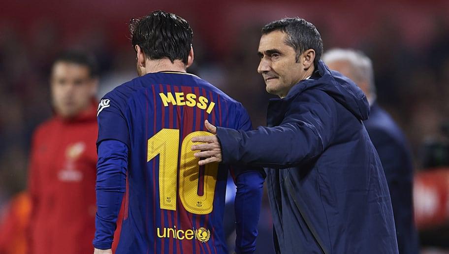 Lionel Messi,Ernesto Valverde
