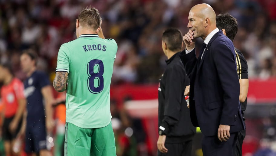 Toni Kroos,Zinedine Zidane