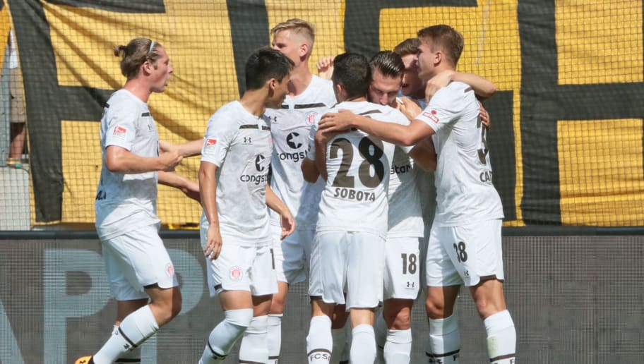 FC St. Pauli Torjubel 1:0