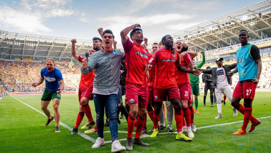 SG Dynamo Dresden v SC Paderborn 07 - Second Bundesliga