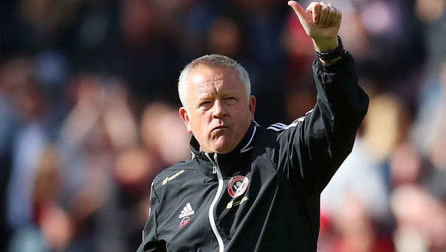 Chris Wilder Admits Sheffield United 'Fancy Their Chances' of Causing Arsenal Shock