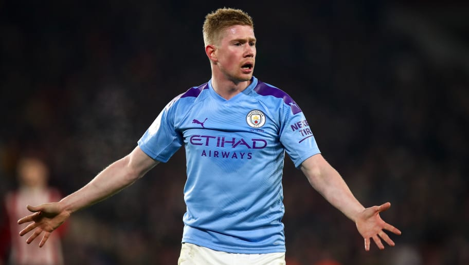 Kevin De Bruyne Sets Another Assist Record During Man City's Win Over Sheffield United