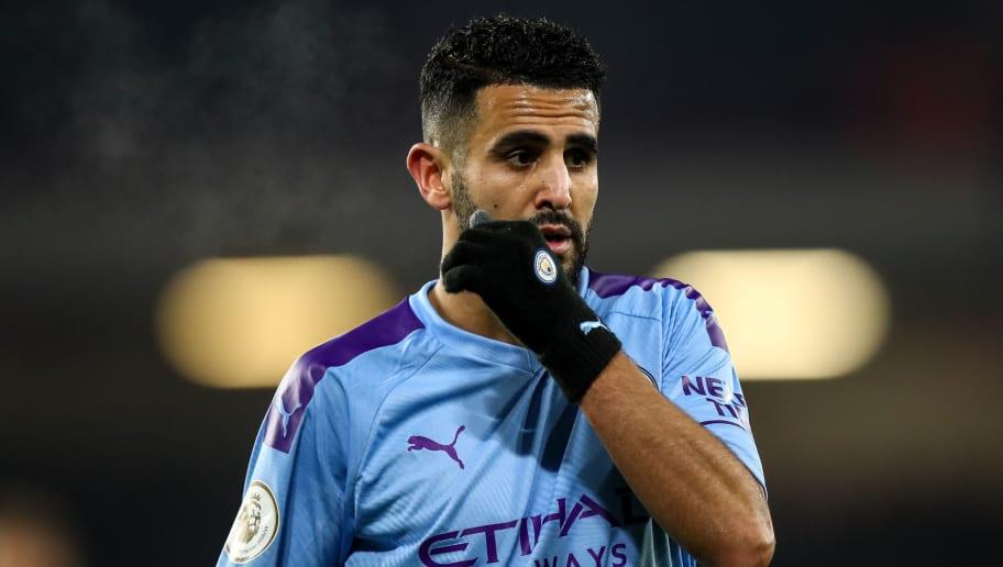 PSG Lining Up Summer Move for Manchester City's Riyad Mahrez ...