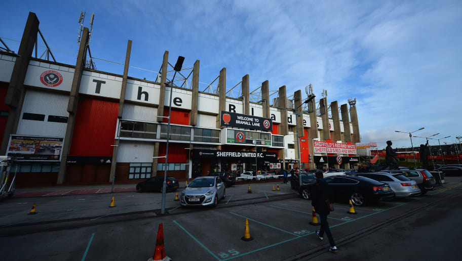 SHEFFIELD, ENGLAND - DECEMBER 06:  A view outside of Bramall Lane, Home of Sheffield United FC during the FA Cup Second Round match between Sheffield United and Plymouth Argyle at Bramall Lane on December 6, 2014 in Sheffield, England.  (Photo by Tony Marshall/Getty Images)