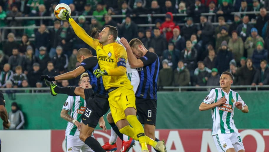 SK Rapid Wien v FC Internazionale - UEFA Europa League Round of 32: First Leg