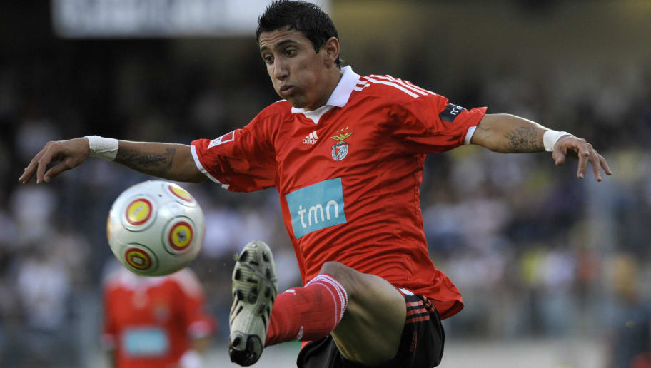 SL Benfica's Argentinian player Angel Di